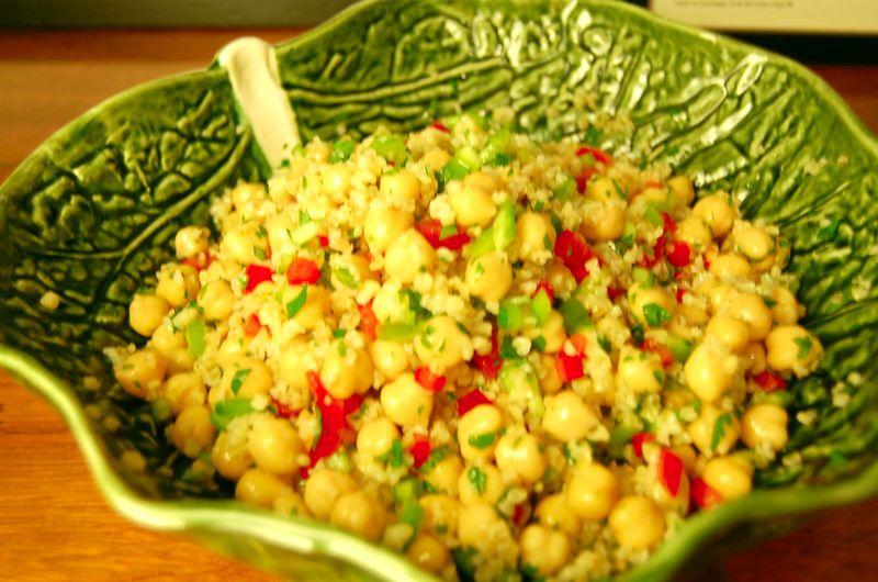 Salada de trigo bulgur#4