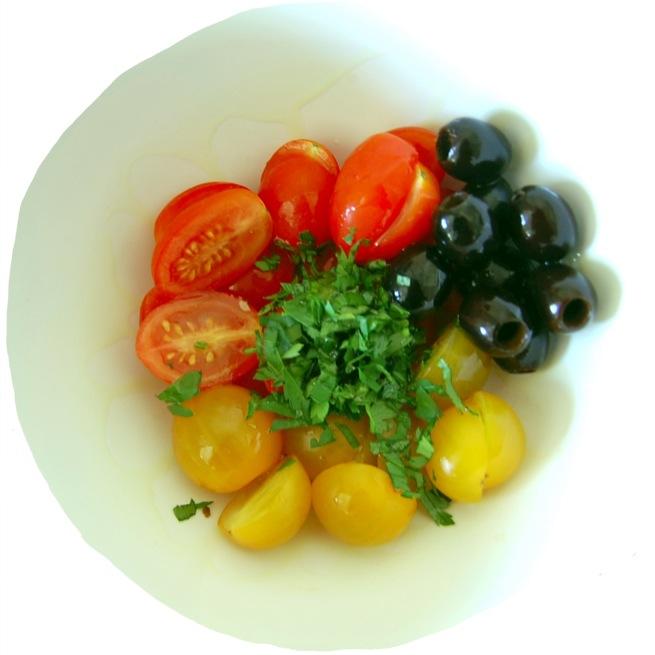 Salada de tomate cherry#1