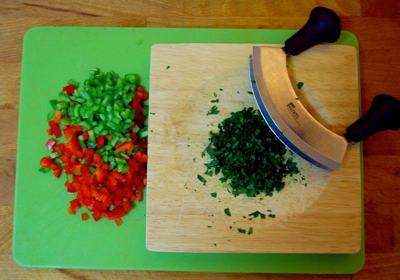 Salada de trigo bulgur#3