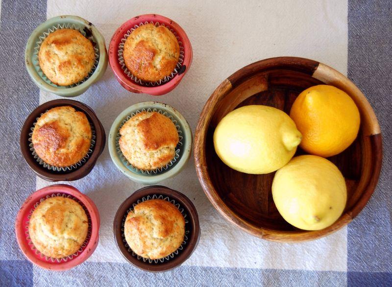 Queques de limão com sementes de papoila#5