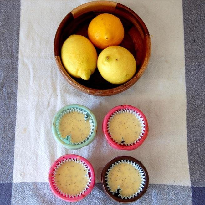 Queques de limão com sementes de papoila#4